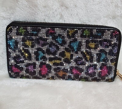Inspired Colored Leopard Print Wallet