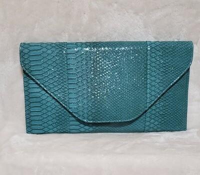 Turquoise Sea Arm/Wrist Clutch
