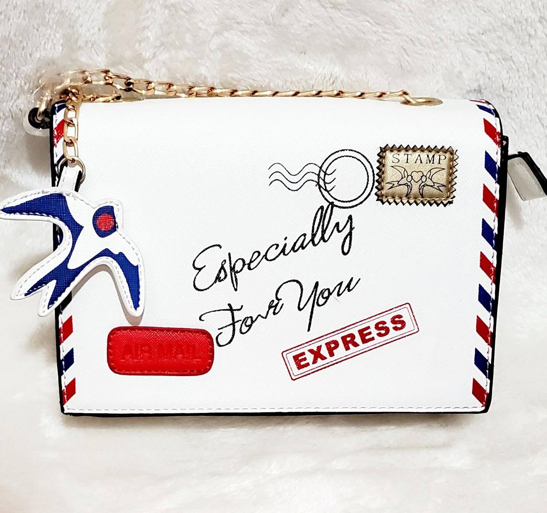 Envelope Chain Crossbody