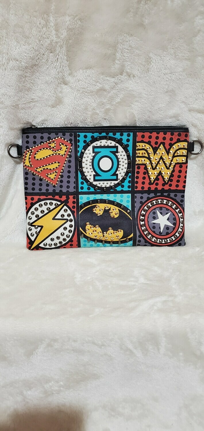 I AM Superwoman Clutch/ Crossbody