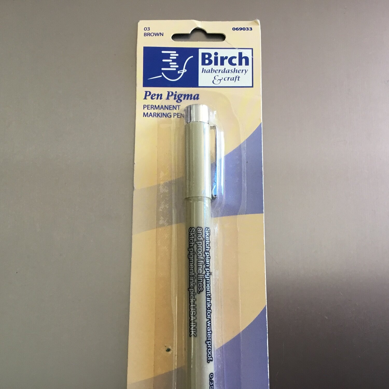 Birch Pen Pigma Brown - 069033