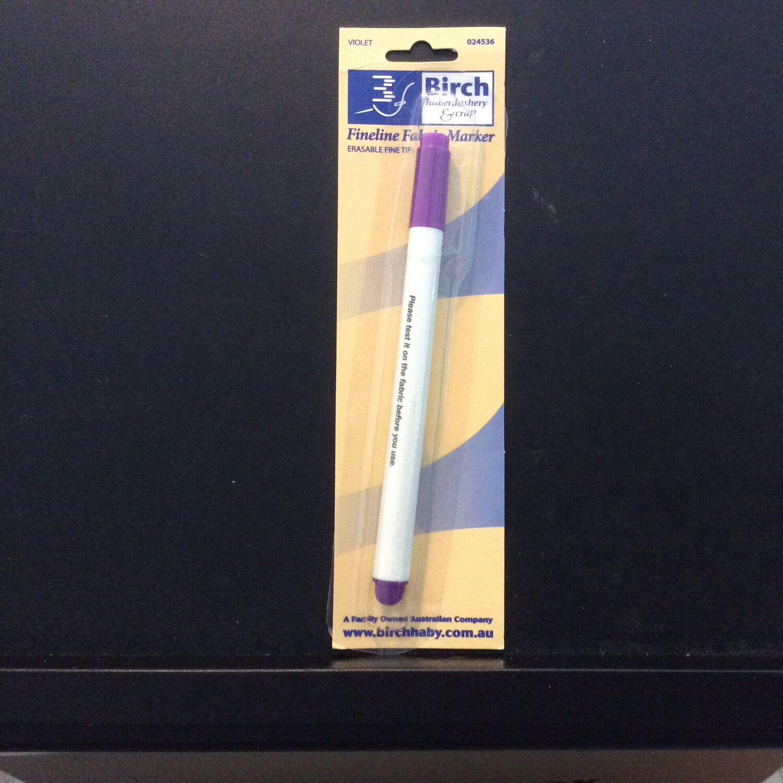 Birch Erasable Fine Tip Pen Violet (024536)