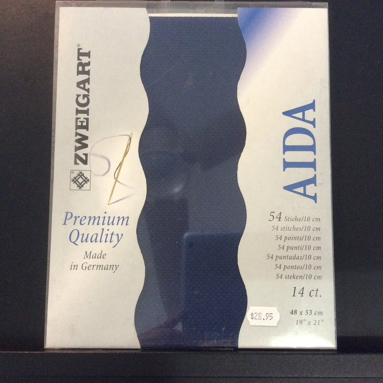Aida 14ct Fat Qtr Navy (FQ3706.589)