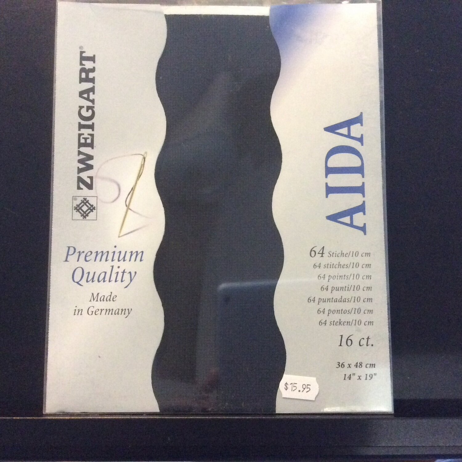 Aida 16ct PreCut Black (PC3251.720)