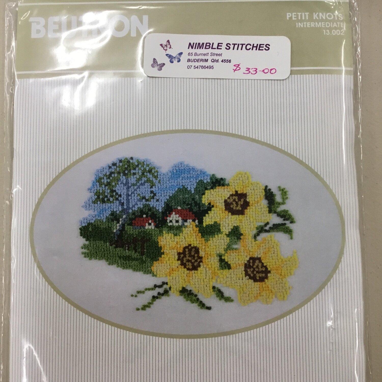 Beutron Petit Knots - Sunflowers Kit (13.002)