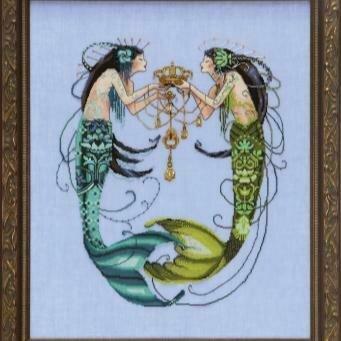 Mirabilia Design - The Twin Mermaids (MD141)