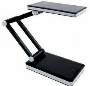 Triumph Rechargeable Folding LED Desk Lamp - Black (OD188.B)