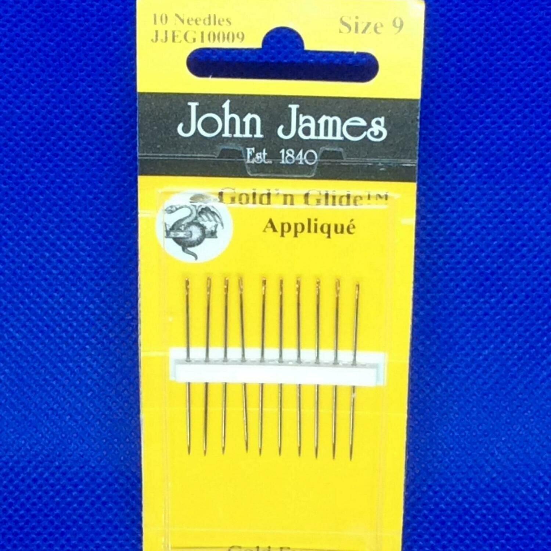 John James Appliqué #09 Gold'n Glide Pkt - DISCONTINUED
