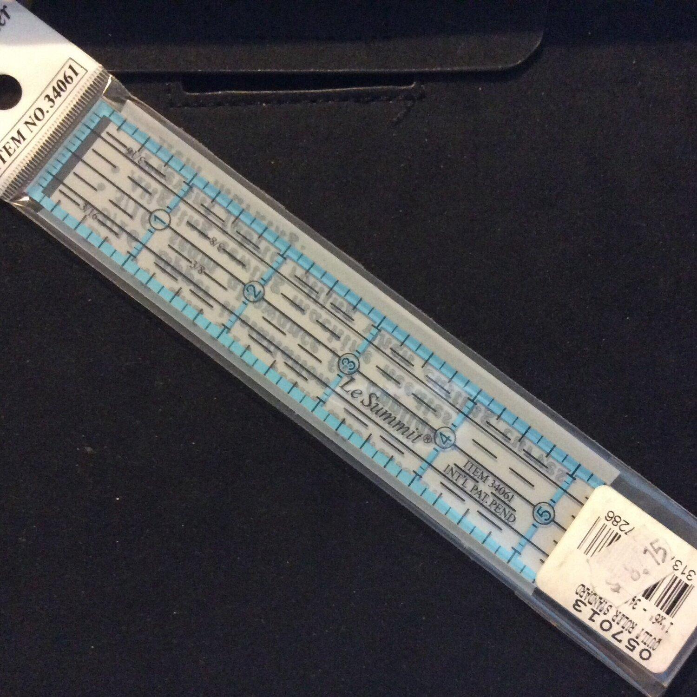 """Birch Quilt Ruler - 1""""x6"""" (057013)"""