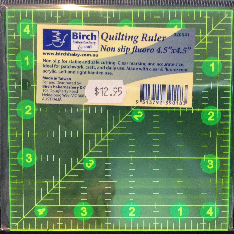 """Birch Quilt Fluoro 4.5""""sq"""
