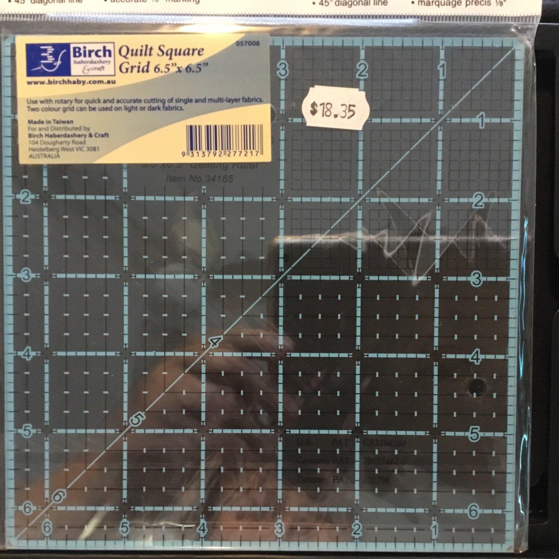 "Template Quilt Square - 6.5"" (057006)"