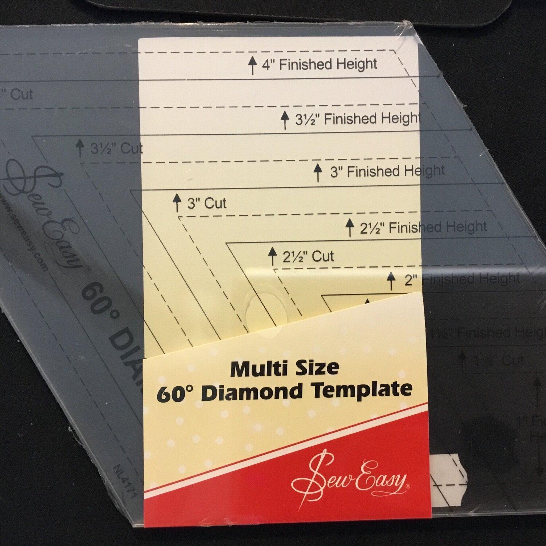 "Sew Easy Diamond Multi Size 1"" - 4.5"" (NL4171)"