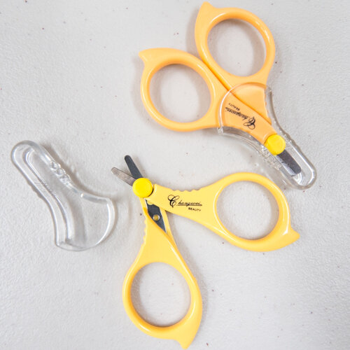 Emery Travel Scissors Blunt Tip Yellow (E7073.YE)