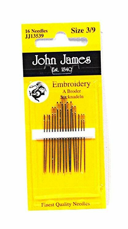 John James Embroidery #03/09 pkt (JJ13539)