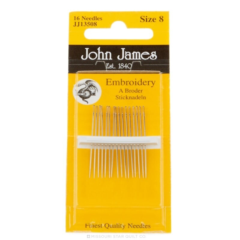 John James Embroidery #08 pkt (JJ13508)