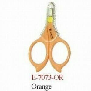 Emery Travel Scissors Blunt Tip Orange (E7073)