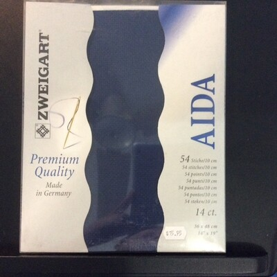 Aida 14ct PreCut Navy (PC3706.589)