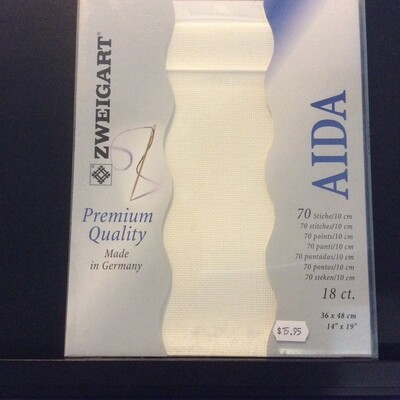 Aida 18ct PreCut Antique White (PC3793.101)