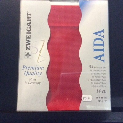 Aida 14ct PreCut Red (PC3706.954)