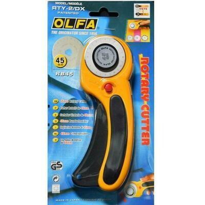 OLFA Rotary Cutter 45mm RTY-2/DX (OL4114)