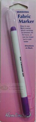 Hemline Fabric Marker Purple Vanishing Fine (296.F)