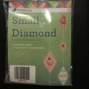 Template Set Diamond 9pc (1