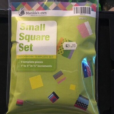 Template Set Square 9pc (1.0