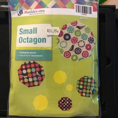 Template Set Octagon 9pc (1.0