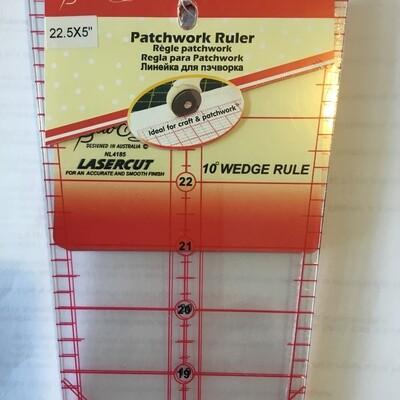 Sew Easy Wedge Ruler 10deg - 22.5