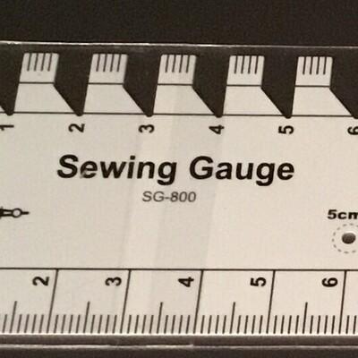 Sew Mate Sewing Gauge Ruler (SG800)