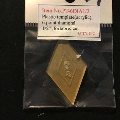 Template Diamond 60deg - 0.5