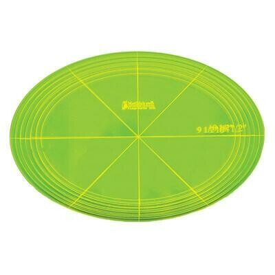 """Template Set Oval (9.5"""" - 12.5"""") 7pc - XLge (VOXL)"""
