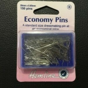 Hemline Economy Pins 150pkt (670)