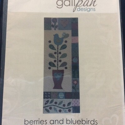 GPD Berries & Bluebirds Quilt Block 3