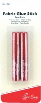 Sew Easy Glue Stick 2pkt (ER790)