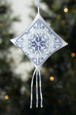 Mill Hill Treasured Diamond - Snowflake (MD22-8304)