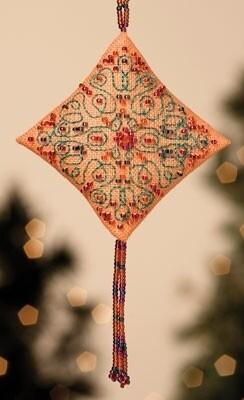 Mill Hill Treasured Diamond - Tangerine Sorbet (MH22-3301)