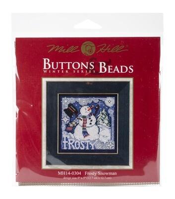 Mill Hill Buttons & Beads Winter Series - Frosty Snowman (MH14-0304)