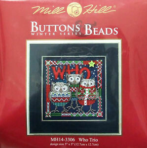 Mill Hill Buttons & Beads Winter Series - Who Trio (MH14-3306)