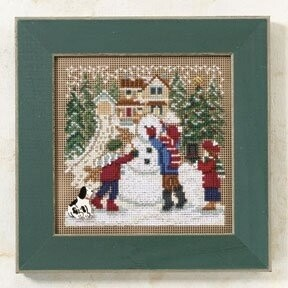 Mill Hill Buttons & Beads Winter Series - Snow Day (MH14-9302)