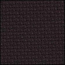 Aida 14ct w.110cm Black (3706.720) /m
