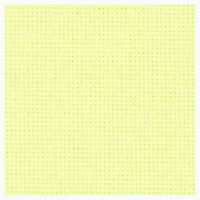 Aida 14ct w.110cm Pale Yellow (3706.2030) /m