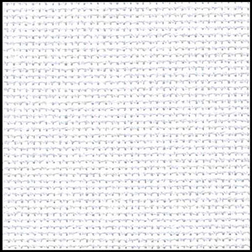 Lugana 25ct Fat Quarter White (3835.100)
