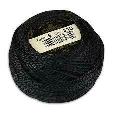 DMC116 Perle 05 Ball 0310 - Black