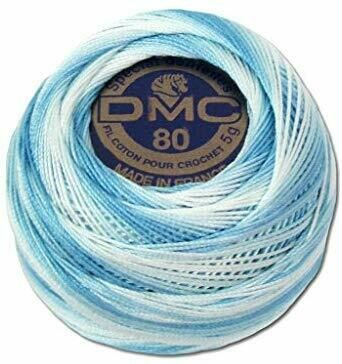 DMC Cordonnet #040 Cotton 0067V - Baby Blue