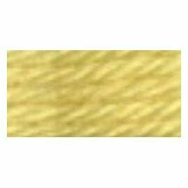 DMC486 Tapestry Wool Skein 7470 - Straw