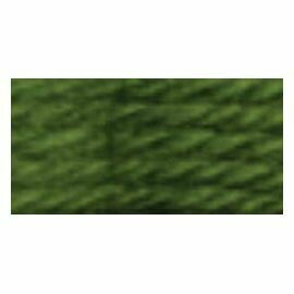 DMC486 Tapestry Wool Skein 7988 - Medium Avocado Green