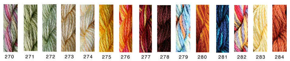 Caron Waterlillies Thread #277 - Hot Peppers