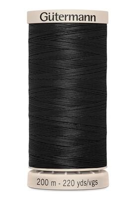Gutermann Hand Quilting Thread 200m - 5201