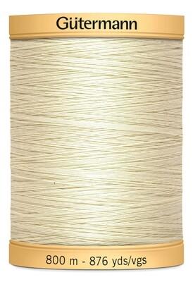 Gutermann Natural Cotton Thread 800m - 0919